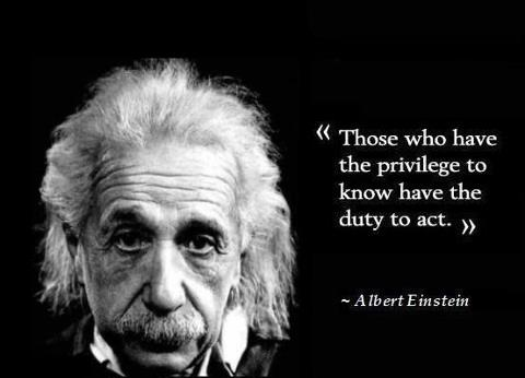My Favorite Einstein Quote